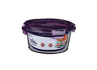 Емкость Peterhof  для продуктов 0,75л с крыш. фиолет.