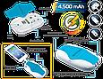 Универсальный аккумулятор Promate pocketMate.uni White, фото 4