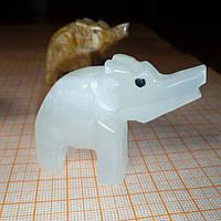 Слон из оникса 5,5*4см