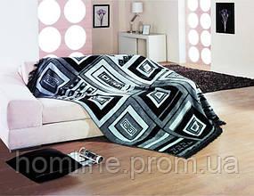Плед Lotus Black&White хлопок 150*200