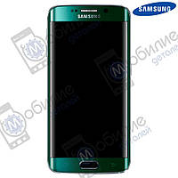 Дисплей Samsung S6 Edge (модуль экран + тачскрин) G925 Green