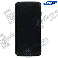 Дисплей Samsung S7 Edge (модуль экран + тачскрин) G935 Black