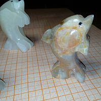 Дельфин из оникса 5*3,5см