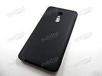 Полимерный TPU чехол Xiaomi Redmi Note 4X (черный), фото 1