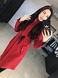 """Женское стильное шерстяное пальто-парка с капюшоном """"Алекс"""" (3 цвета), фото 2"""