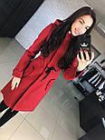 """Женское стильное шерстяное пальто-парка с капюшоном """"Алекс"""" (3 цвета), фото 3"""