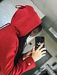 """Женское стильное шерстяное пальто-парка с капюшоном """"Алекс"""" (3 цвета), фото 4"""