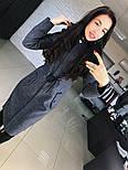 """Женское стильное шерстяное пальто-парка с капюшоном """"Алекс"""" (3 цвета), фото 6"""