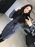 """Женское стильное шерстяное пальто-парка с капюшоном """"Алекс"""" (3 цвета), фото 7"""
