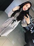 """Женское стильное шерстяное пальто-парка с капюшоном """"Алекс"""" (3 цвета), фото 8"""