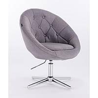Кресло  HC-8516 серое ткань