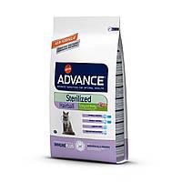 Advance (Эдванс) Cat Sterilized Hairball корм для стерилизованных кошек для выведения шерсти (индейка) 1.5 кг