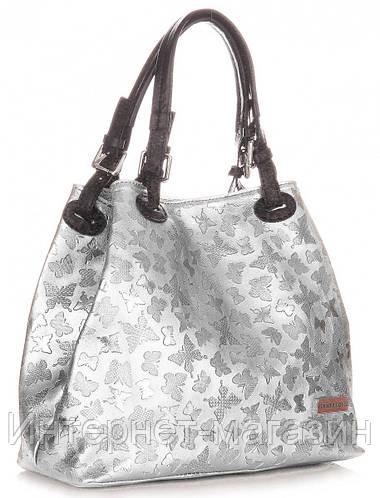 85b60e88adba Уникальная итальянская сумка VITTORIA GOTTI из натуральной кожи, цвета  серебро с тиснением бабочек: продажа, цена в Луцке. женские сумочки и  клатчи от