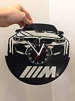 Часы из виниловой пластинки BMW ///M