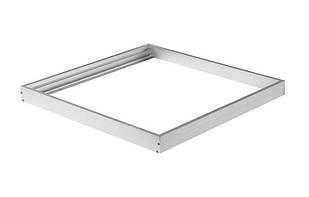 Накладная рамка для встр. LED панели 600х600мм VELA Белый (металл)