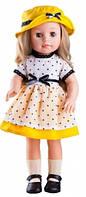 Кукла Эмма в желтой шляпке 40 см Paola Reina (06009)