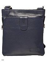Мужская кожаная сумка BOND 1031-281 BLUE