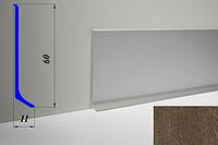 Дизайнерский алюминиевый плинтус BLW-31 60 мм, Дуб рустикал
