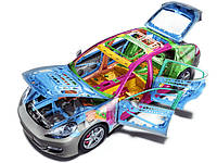 Запчасти кузова Mitsubishi Lancer X