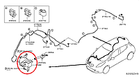 Nissan Leaf  Бачок омивача