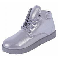 12-13 Серые женские ботинки NSP-143140