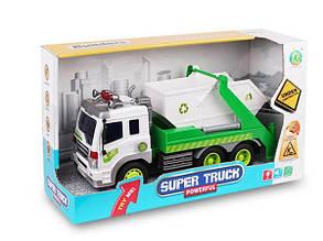 Машинка Мусоровоз Super Truck