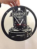 Часы из виниловой пластинки Chevrolet Camaro