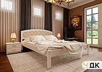 Кровать Британия мягкое изголовье 140х190