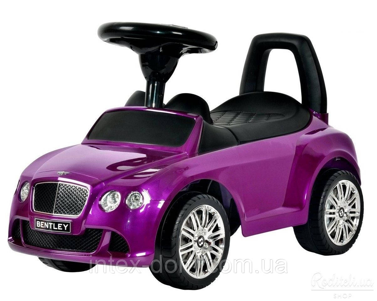 Каталка-толокар Bentley Z 326s-8 лиловый, автопокраска