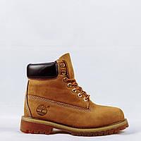 Ботинки зимние женские Timberland Classic Boots тимберленды рижие