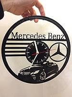 Часы из виниловой пластинки Mercedes-Benz