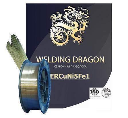 Проволока Welding Dragon МНЖКТ 5-1-0.2-0.2 1.0 мм 5 кг (D200)