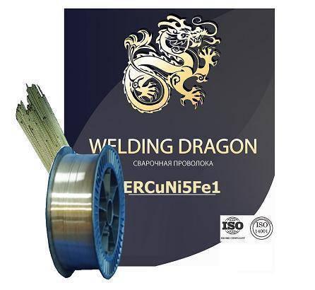 Проволока Welding Dragon МНЖКТ 5-1-0.2-0.2 1.0 мм 5 кг (D200) , фото 2