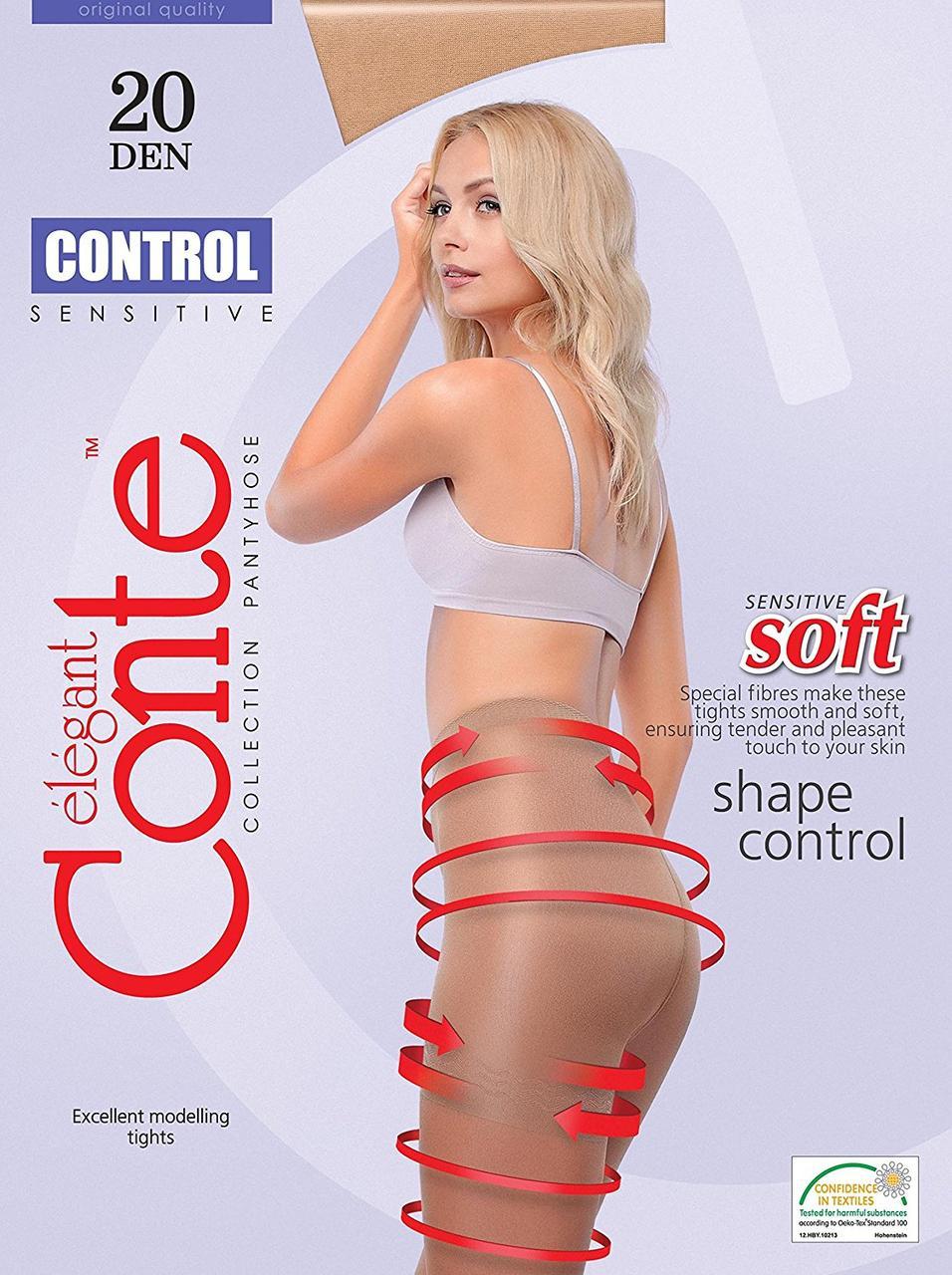 Колготки женские корректирующие Conte CONTROL 20 ден