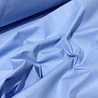 Бязь голубого цвета 135г/м2 №814