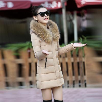 Женская куртка- пальто с красивым мехом