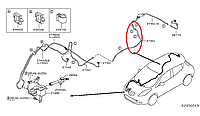 Nissan Leaf Шланг омивача