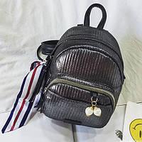 Блестящий стильный мини рюкзачок