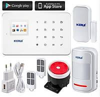 Беспроводная GSM сигнализация KERUI G18+