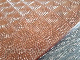 Полиуретан листовой Рептилия р.400*200*6мм цвет коричневый