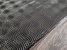 Полиуретан листовой Рептилия р.400*200*6мм цвет черный