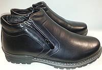 Ботинки мужские зимние эко-кожа p40 MEKO 1707 черные
