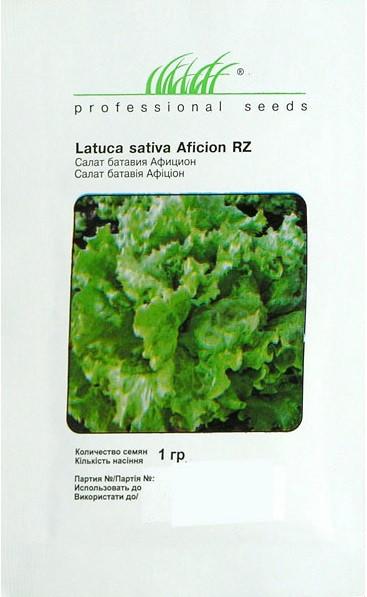 Семена салата Афицион 1 г, Rijk Zvaan