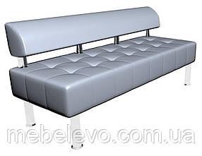 Офисный диван Тонус без подлокотников 700х1600х600мм    Sentenzo