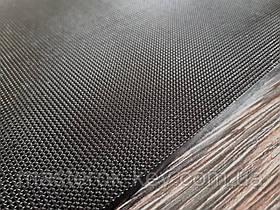 Полиуретан листовой Мелкая сетка р.400*200*6мм цвет черный