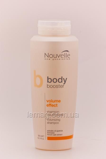 Nouvelle Body Booster Volume Effect Shampoo Шампунь для объема, 250 мл