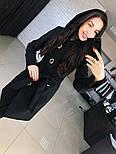 """Женское стильное качественное пальто из кашемира с капюшоном """"Алиса демисезон"""" (6 цветов), фото 3"""