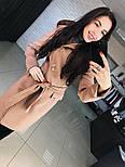"""Женское стильное качественное пальто из кашемира с капюшоном """"Алиса демисезон"""" (6 цветов), фото 7"""