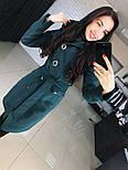 """Женское стильное качественное пальто из кашемира с капюшоном """"Алиса демисезон"""" (6 цветов), фото 9"""