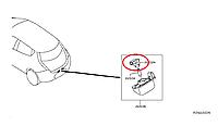 Nissan Leaf Патрон лампи підсвітки номера